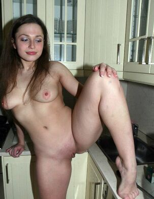 young naked wife