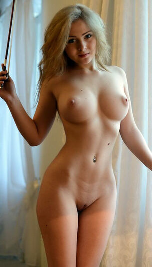 young naked blonde